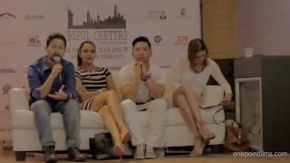 Prabal Gurung , Priyanka Karki, Bipul Chettri and Kiran Chettri (Bipul Chettri live in New York)