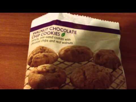 Nutrisystem Taste Test - Walnut Chocolate Chip Cookies