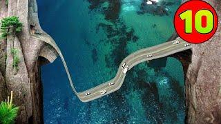 10 Najniebezpieczniejszych dróg na świecie