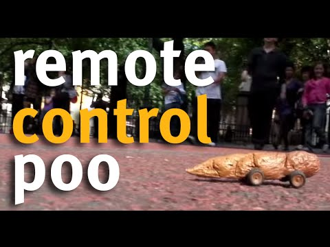 Nothing Says 'Good Cause' Like Remote-Controlled Poop