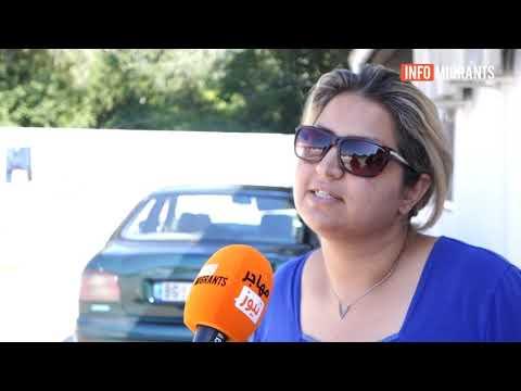 مهاجران گیرمانده در صربستان