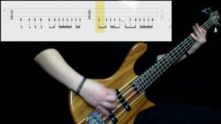 Tool   Lateralus (Bass Cover) (Play Along Tabs In Video)
