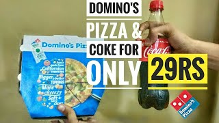 Domino's Pizza For Rs29 Only - Domino's 29Rs Loot.