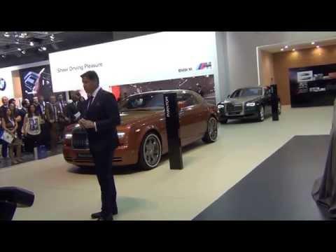 Rolls Royce - Dubai International Motor Show 2015