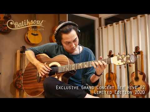 Exclusive Grand Concert Bee Hive #2 - Batiksoul Limited Edition 2020 ( Boutique Guitars )