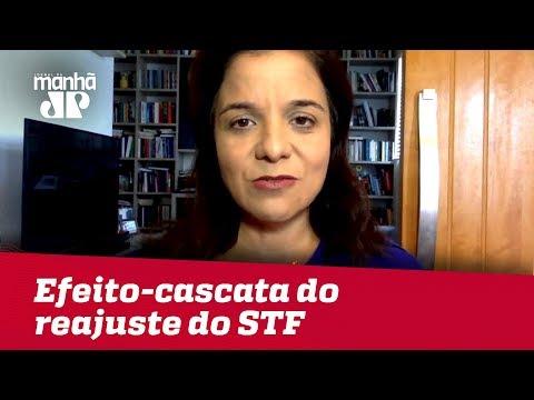 Reajuste do STF traz efeito cascata preocupante e abre precedente ao Congresso | Vera Magalhães