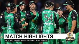 Stars stay alive as Hurricanes bow out | KFC BBL|08