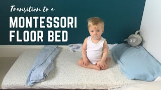 Transition From Co-sleeping To Montessori Floor Bed