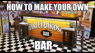 How To Make A Stunning Home BAR Easy Simple Steps