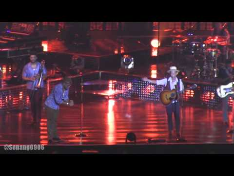 Bruno Mars - The Lazy Song @ Live in Jakarta 2014 [HD]
