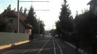 preview picture of video 'Strassenbahnverlängerung 6 Graz/Tram lengthening 6'
