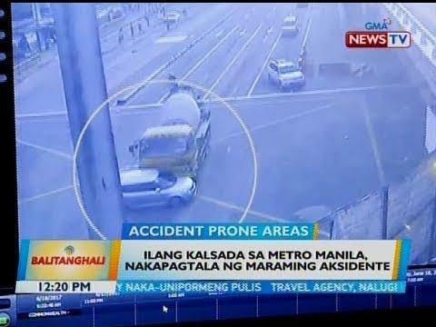 [GMA]  BT: Ilang kalsada sa Metro Manila, nakapagtala ng maraming aksidente