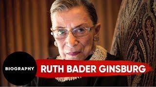 Ruth Bader Ginsburg - Supreme Court Judge | Mini Bio | Biography