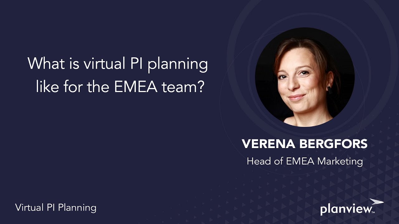 Video: What is virtual PI planning like for the EMEA team?