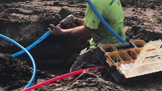 How to install PEX in under-slab installations