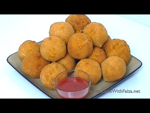 FRIED CHICKEN BREAD BALLS