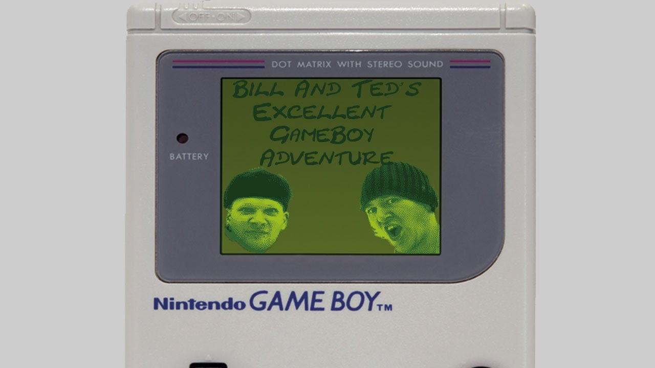 Spiele-Ma-Mo: Bill & Ted's Excellent GameBoy Adventure!