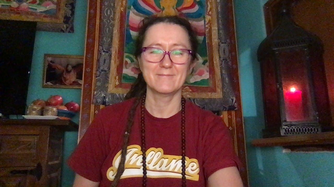 Lama Gangchen Tantric Self-Healing 2- Commentary by Lama Caroline - part 17  (EN)