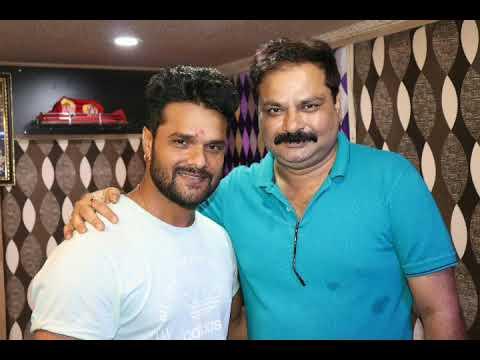 Coolie No 1 की टीम के साथ Khesari Lal Yadav  का पिक्चर हुआ Virul