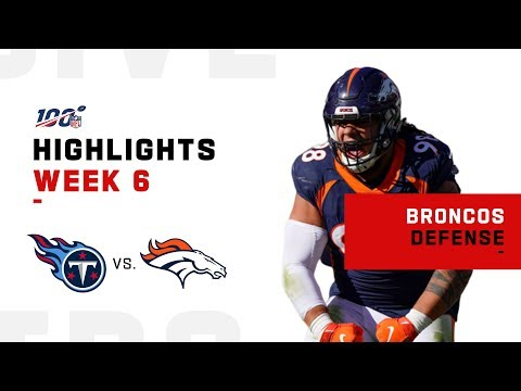 Broncos Defense Gets the Shutout!!  ‍♂️| NFL 2019 Highlights