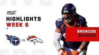 Broncos Defense Gets the Shutout!!  ♂️| NFL 2019 Highlights