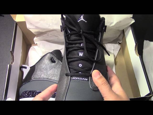 hot sale online 370ad 530a4 Unboxing the Nike Air Jordan Dub Zero Classic Charcoal 30th Anniversary  shoes 02 18 7,826