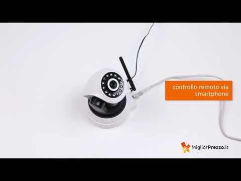 Telecamera di sorveglianza Sricam SP017 Video Recensione