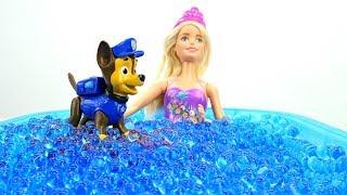 Мультики Бюро находок - Мультик Барби: куклы в бассейне