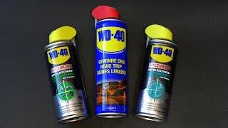 WD-40 Specialist: PTFE Schmierspray, Weißes Lithiumsprühfett, Silikonspray (Vorstellung)