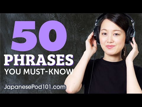 50 Phrases Every Japanese Beginner Must Know