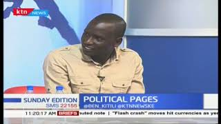 Is it the end for Wiliam Ruto? Uhuru ally vows to block Ruto come 2022   Sunday Edition