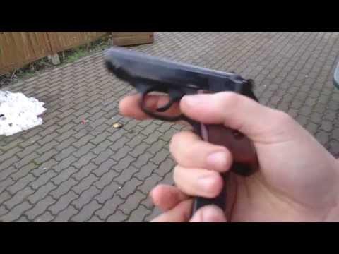ERMA EGP55 mit aktueller Geco Munition