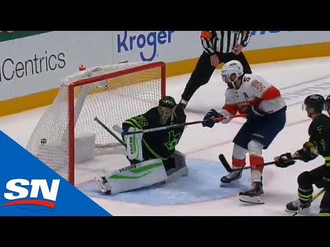 Florida Panthers & Dallas Stars Play End-To-End Electric Overtime With Ekblad Scoring Twice