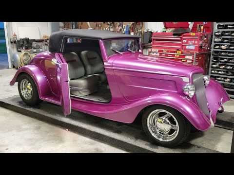1934 Ford Roadster Walk Around