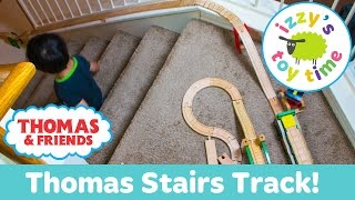 Thomas and Friends STAIR CHALLENGE with Thomas Train KidKraft and Brio! Toy Trains