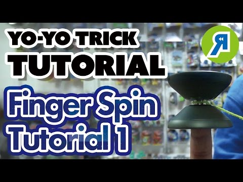 [Advanced Trick] Finger Spin Tutorial for Finger Spin Beginners | YOYO INFO BASE by REWIND & YO-YO USA