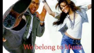 Miley Cyrus feat. Timbaland - we belong to music