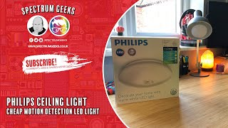 Checking out the Philips myLiving Mauve Ceiling Lamp