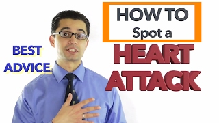 How to Spot a HEART ATTACK: Signs and Symptoms of ANGINA. Best Advice!