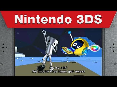 Nintendo 3DS - Chibi-Robo! Zip Lash Gameplay Trailer thumbnail