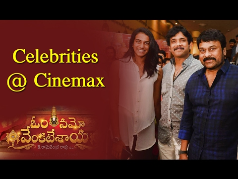 Celebrities Review About Om Namo Venkatesaya at Cinemax