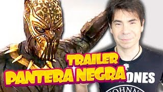 PANTERA NEGRA TRAILER 2 | REVIEW