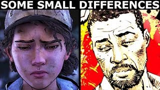 Let Lee Turn Or Shoot Lee - Difference Check - The Walking Dead Final Season 4 Episode 1