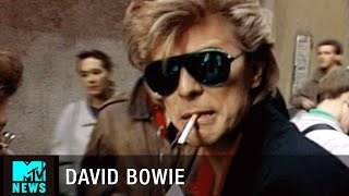 David Bowie & Peter Frampton Search For Beer In Madrid | MTV News