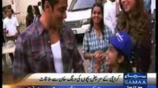 SAMMA News about Make-A-Wish Pakistan Children Met
