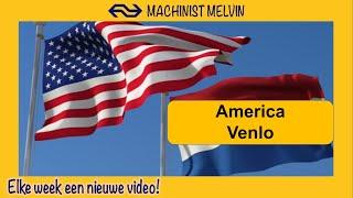 4k AMERICA via HORST-SEVENUM en BLERICK naar VENLO met een INTERCITY!