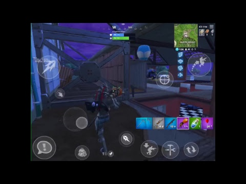 Fortnite Battle Royale Mobile Ipad Pro 10 5 Stream 5 6 Finger Claw
