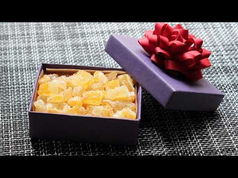 "Candied ""Buddha's Hand"" Citron – How to Candy Citrus for an Edible Gift"