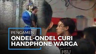 Pengamen Ondel-ondel Curi Handphone Diamankan Warga Kebagusan Jakarta Selatan