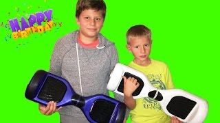 Мини Сигвей подарок ко дню рожденья // Oppening Birthday Present Smart Balance Scooter Hoverboard